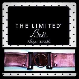 The limited stretch belt size small